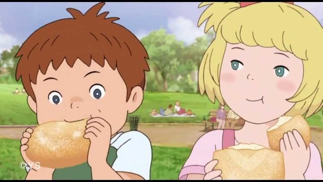 ジブリ映画?名作劇場?懐かしい感じのする製パン会社のアニメCM