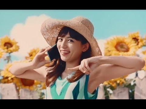 川口春奈のダンスが可愛いQTmobileのCMひまわり篇